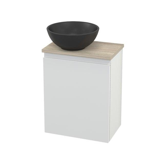 Toiletmeubel met Waskom Quartz Modulo+ Pico Hoogglans Wit 41cm BMC001837