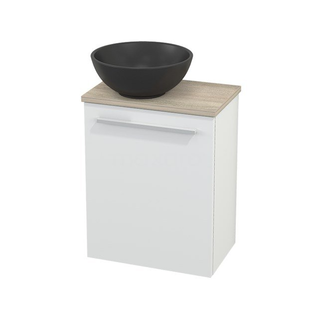 Toiletmeubel met Waskom Quartz Modulo+ Pico Mat Wit 41cm BMC001838