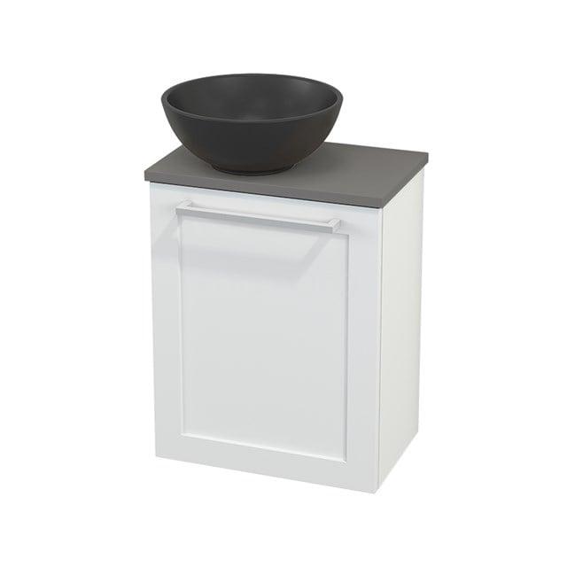 Toiletmeubel met Waskom Quartz Modulo+ Pico Mat Wit 41cm BMC001875