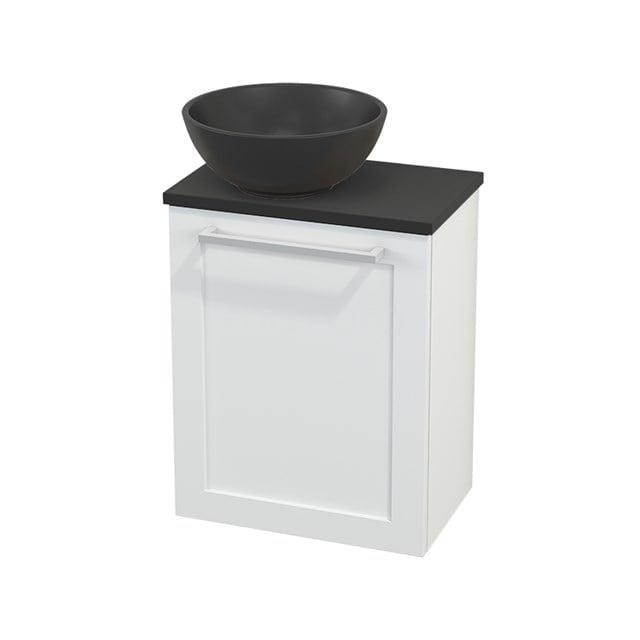 Toiletmeubel met Waskom Quartz Modulo+ Pico Mat Wit 41cm BMC001876