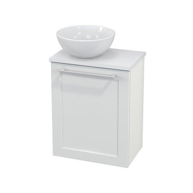Toiletmeubel met Waskom Keramiek Modulo+ Pico Hoogglans Wit 41cm BMC000059