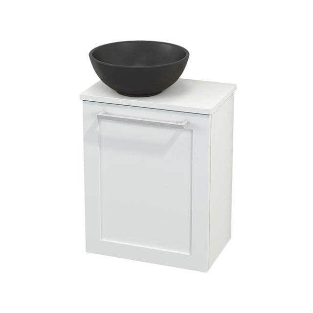 Toiletmeubel met Waskom Quartz Modulo+ Pico Mat Wit 41cm BMC001890