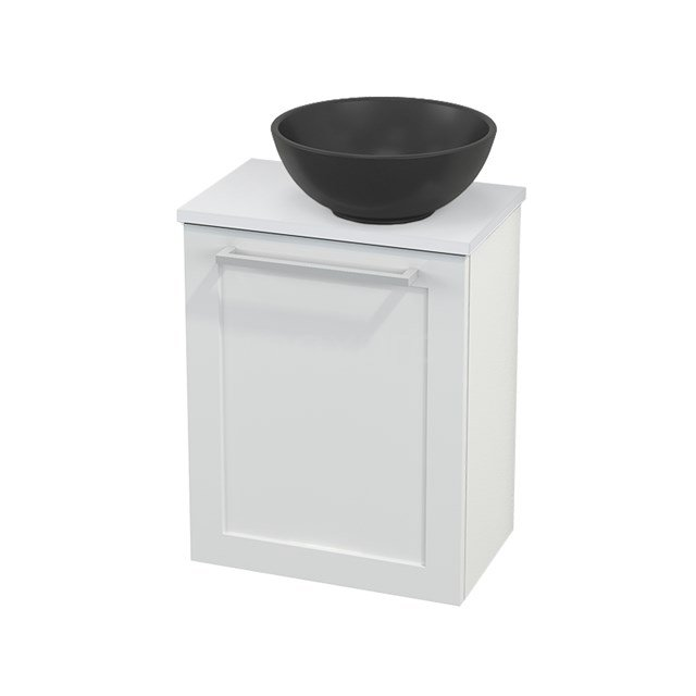 Toiletmeubel met Waskom Quartz Modulo+ Pico Hoogglans Wit 41cm BMC001893