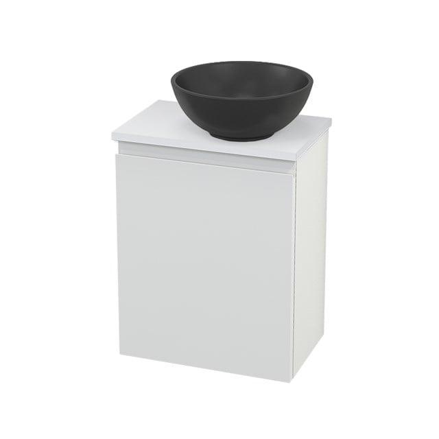 Toiletmeubel met Waskom Quartz Modulo+ Pico Hoogglans Wit 41cm BMC001894