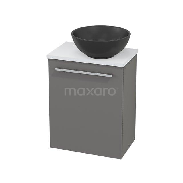 Toiletmeubel met Waskom Quartz Modulo+ Pico Basalt 41cm BMC001896