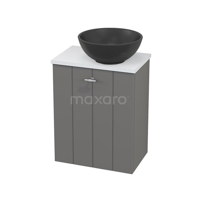 Toiletmeubel met Waskom Quartz Modulo+ Pico Basalt 41cm BMC001897