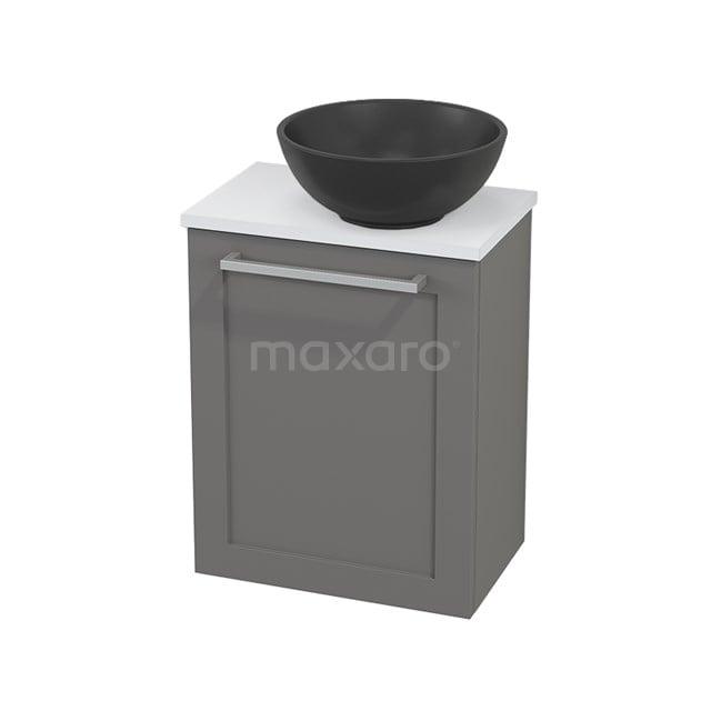 Toiletmeubel met Waskom Quartz Modulo+ Pico Basalt 41cm BMC001898