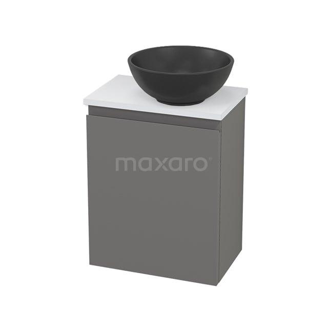 Toiletmeubel met Waskom Quartz Modulo+ Pico Basalt 41cm BMC001900