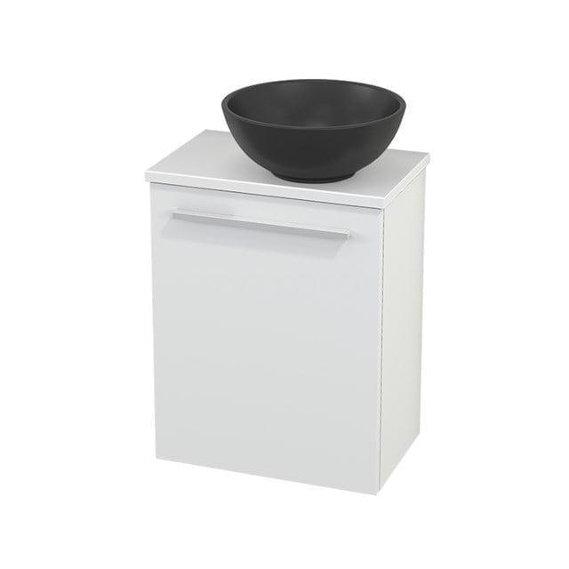 Toiletmeubel met Waskom Quartz Modulo+ Pico Mat Wit 41cm BMC001923