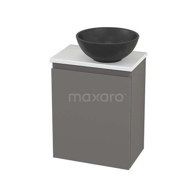 Toiletmeubel met Waskom Quartz Modulo+ Pico Basalt 41cm BMC001931