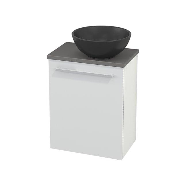 Toiletmeubel met Waskom Quartz Modulo+ Pico Hoogglans Wit 41cm BMC001953