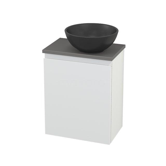 Toiletmeubel met Waskom Quartz Modulo+ Pico Mat Wit 41cm BMC001960