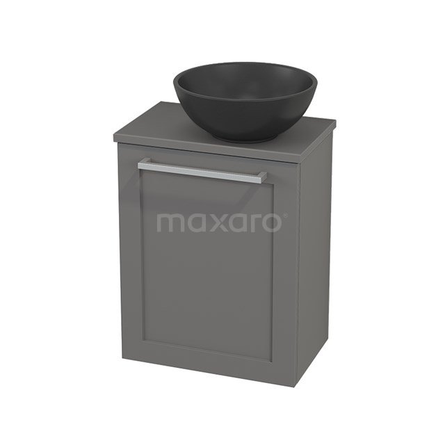 Toiletmeubel met Waskom Quartz Modulo+ Pico Basalt 41cm BMC001964