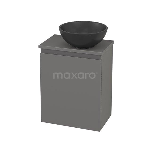 Toiletmeubel met Waskom Quartz Modulo+ Pico Basalt 41cm BMC001965