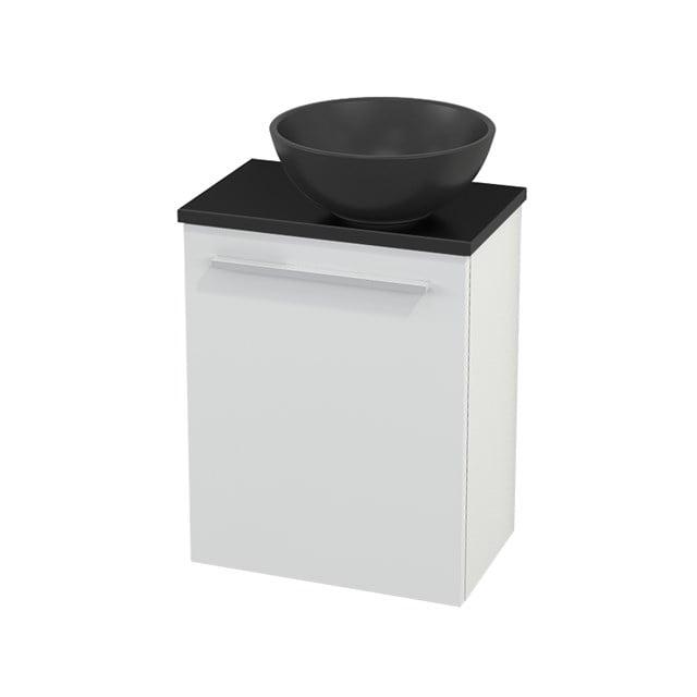 Toiletmeubel met Waskom Quartz Modulo+ Pico Hoogglans Wit 41cm BMC001981