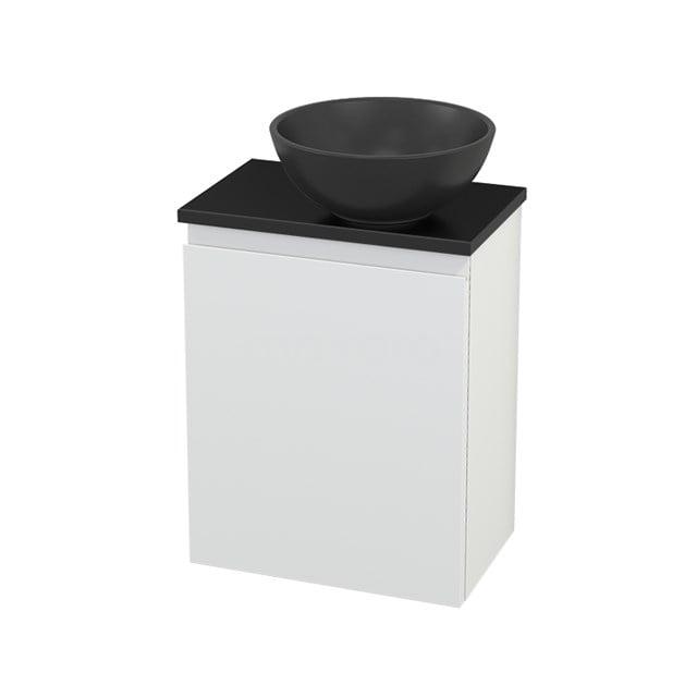 Toiletmeubel met Waskom Quartz Modulo+ Pico Mat Wit 41cm BMC001988