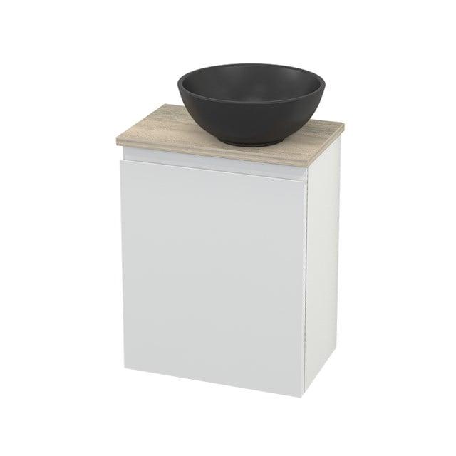 Toiletmeubel met Waskom Quartz Modulo+ Pico Hoogglans Wit 41cm BMC002011