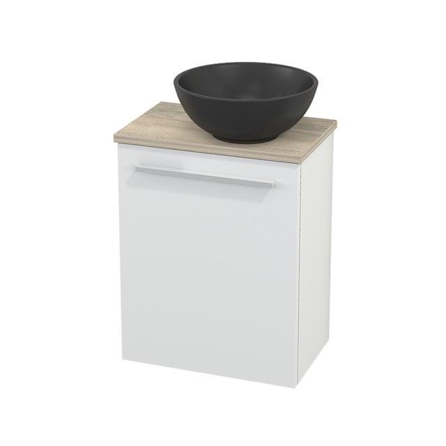 Toiletmeubel met Waskom Quartz Modulo+ Pico Mat Wit 41cm BMC002012