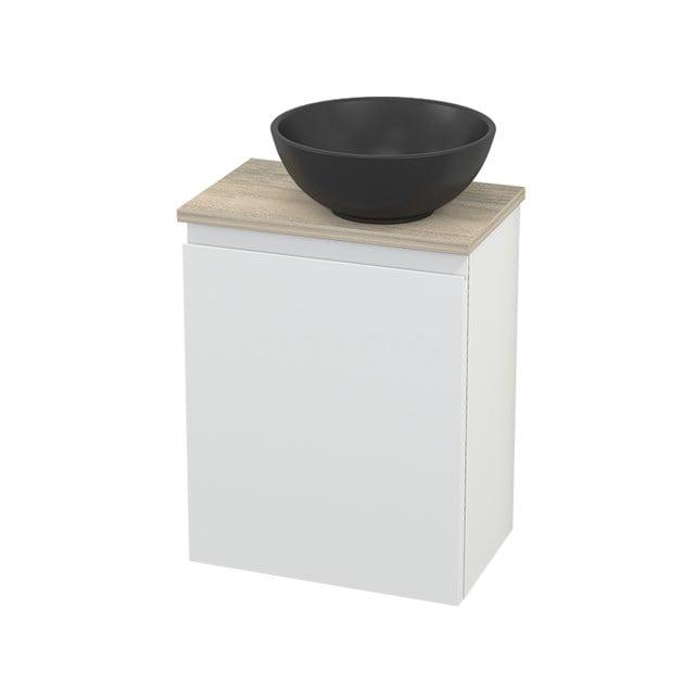 Toiletmeubel met Waskom Quartz Modulo+ Pico Mat Wit 41cm BMC002014