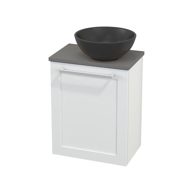 Toiletmeubel met Waskom Quartz Modulo+ Pico Mat Wit 41cm BMC002029