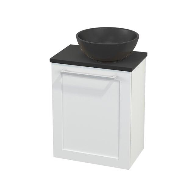 Toiletmeubel met Waskom Quartz Modulo+ Pico Mat Wit 41cm BMC002030