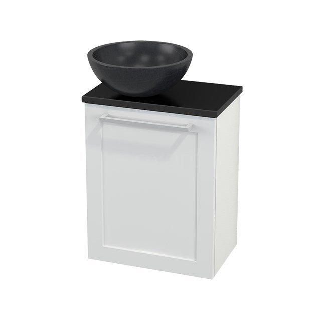 Toiletmeubel met Waskom Natuursteen Modulo+ Pico Hoogglans Wit 41cm BMC000076