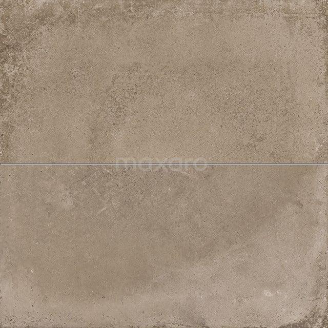 Vloertegel/Wandtegel Avenue Mud 40x80cm Betonlook Bruin Gerectificeerd 404-020201