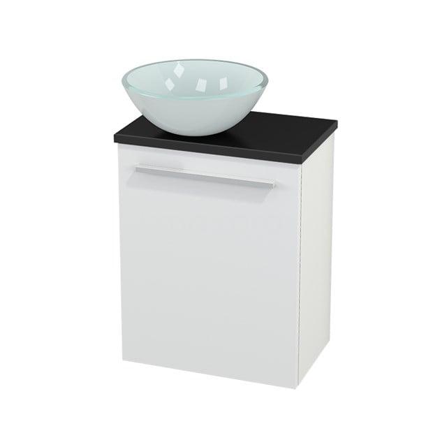 Toiletmeubel met Waskom Glas Modulo+ Pico Mat Wit 41cm BMC000128
