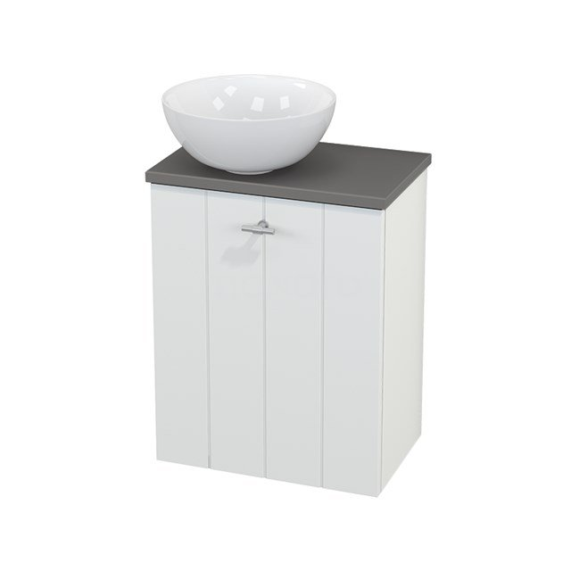 Toiletmeubel met Waskom Keramiek Modulo+ Pico Mat Wit 41cm BMC000150