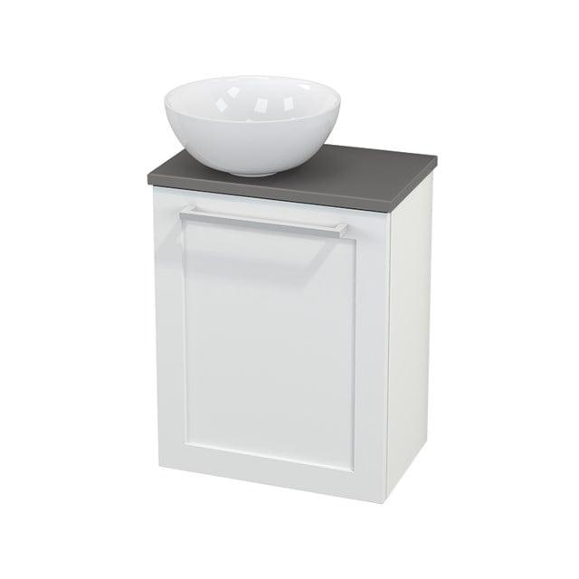 Toiletmeubel met Waskom Keramiek Modulo+ Pico Mat Wit 41cm BMC000178