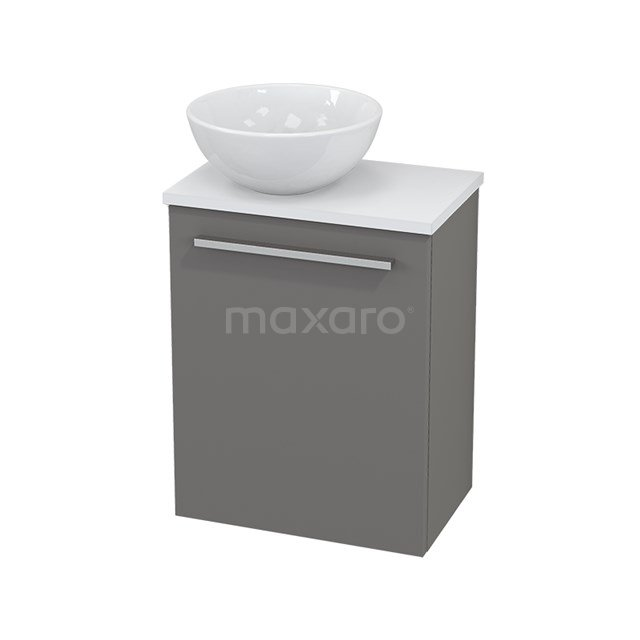 Toiletmeubel met Waskom Keramiek Modulo+ Pico Basalt 41cm BMC000234