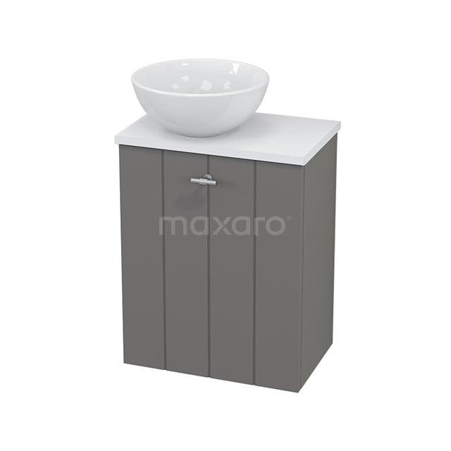 Toiletmeubel met Waskom Keramiek Modulo+ Pico Basalt 41cm BMC000255