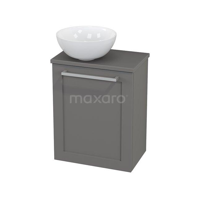 Toiletmeubel met Waskom Keramiek Modulo+ Pico Basalt 41cm BMC000269