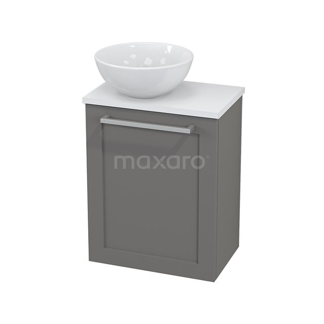 Toiletmeubel met Waskom Keramiek Modulo+ Pico Basalt 41cm BMC000276