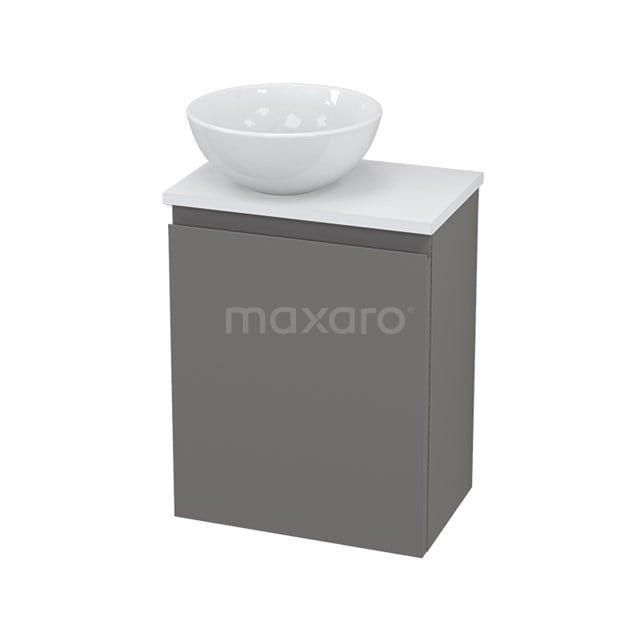 Toiletmeubel met Waskom Keramiek Modulo+ Pico Basalt 41cm BMC000297