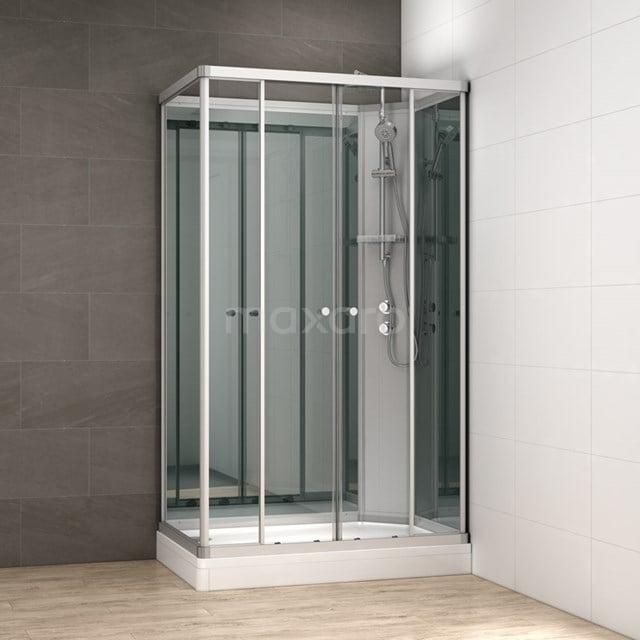Complete Douchecabine 140x90cm Spiegelglas Modera AK1409-322102