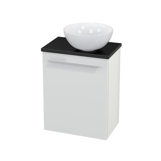 Toiletmeubel met Waskom Keramiek Modulo+ Pico Hoogglans Wit 41cm BMC000451