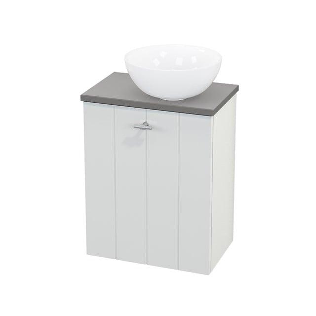 Toiletmeubel met Waskom Keramiek Modulo+ Pico Hoogglans Wit 41cm BMC000472