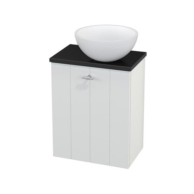 Toiletmeubel met Waskom Solid Surface Mat Modulo+ Pico Hoogglans Wit 41cm BMC000481