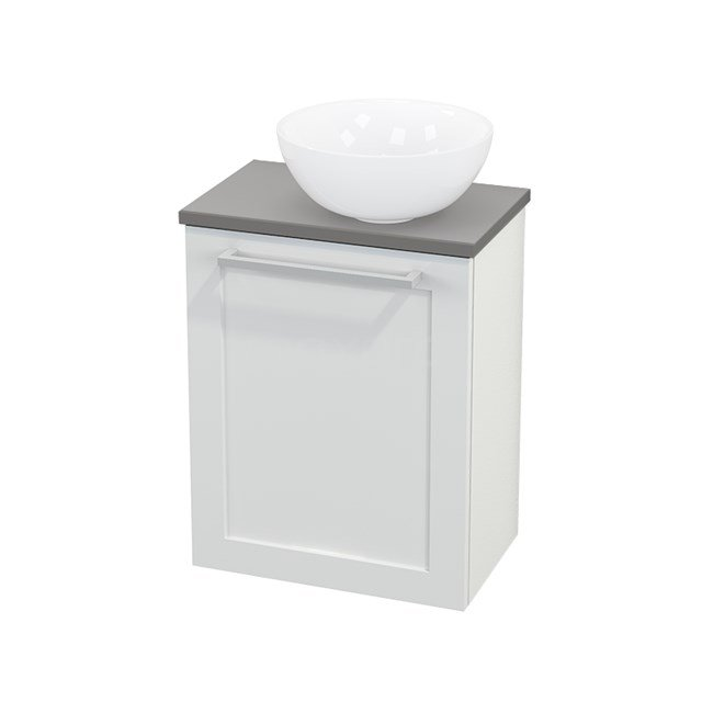 Toiletmeubel met Waskom Keramiek Modulo+ Pico Hoogglans Wit 41cm BMC000500