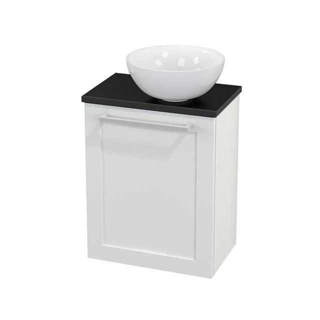 Toiletmeubel met Waskom Keramiek Modulo+ Pico Hoogglans Wit 41cm BMC000507