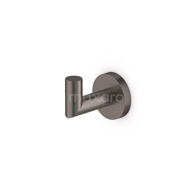 Handdoekhaak Radius Black Steel, Zwart Metaal 150-0601ZM