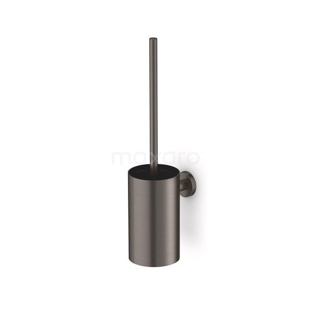 WC Borstel Radius Black Steel, Zwart Metaal 150-1203ZM