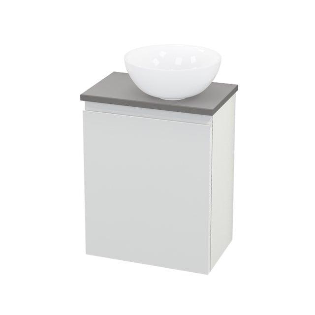 Toiletmeubel met Waskom Keramiek Modulo+ Pico Hoogglans Wit 41cm BMC000528