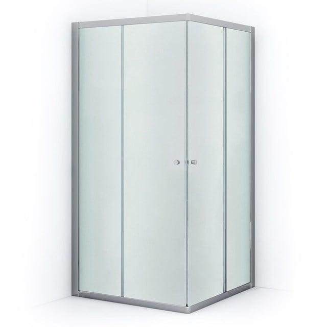 Douchecabine Ruby Allure Matglas 100x100cm Vierkant met Schuifdeuren L0840-1010C