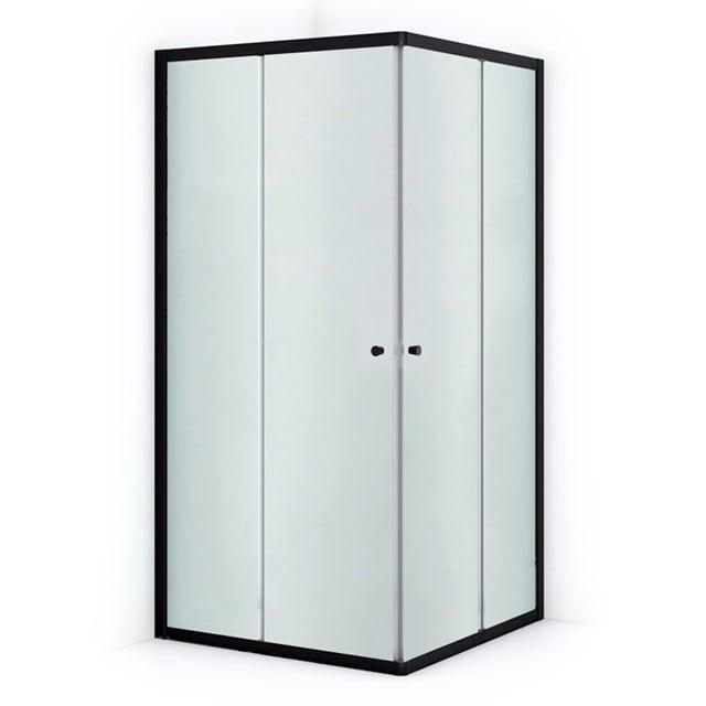 Douchecabine Ruby Allure Matglas 80x80cm Vierkant met Schuifdeuren L0840-0808M