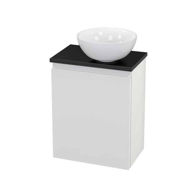 Toiletmeubel met Waskom Keramiek Modulo+ Pico Hoogglans Wit 41cm BMC000535