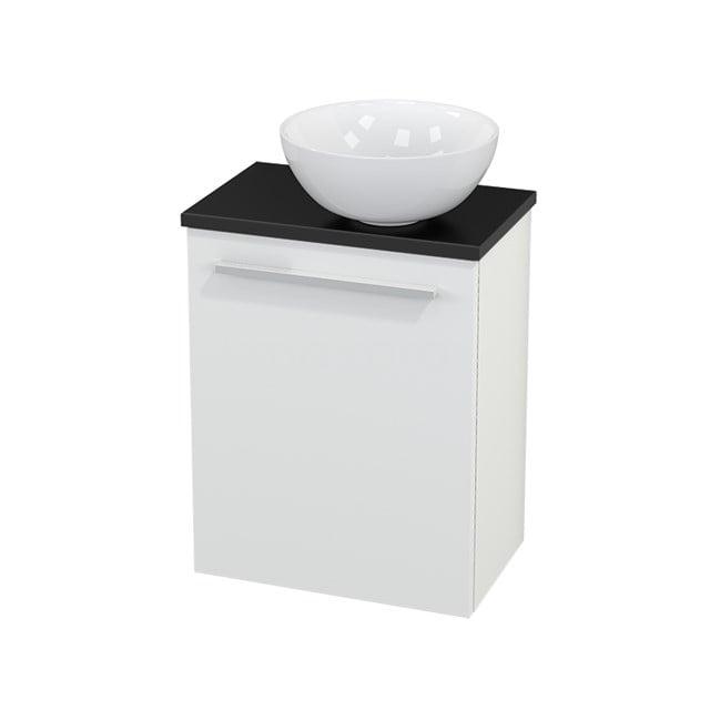 Toiletmeubel met Waskom Keramiek Modulo+ Pico Mat Wit 41cm BMC000563