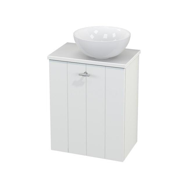 Toiletmeubel met Waskom Keramiek Modulo+ Pico Mat Wit 41cm BMC000577