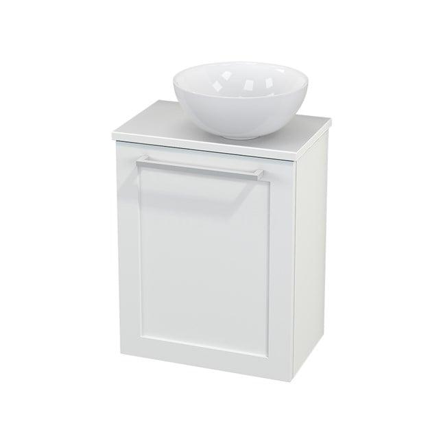Toiletmeubel met Waskom Keramiek Modulo+ Pico Mat Wit 41cm BMC000605